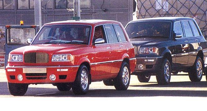 Позашляховики Bentley Dominator, 1998 г. Фото: Autocar