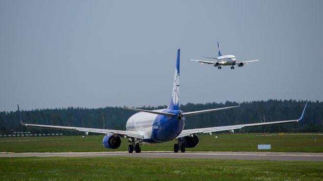 Украина полностью закрыла авиапространство для Беларуси. Фото: сайт «Белавиа»