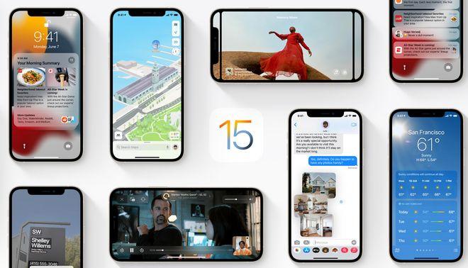 Новые iOS 15 и iPadOS 15: beta, дата выхода, что нового, какие телефоны поддерживает. Фото: Apple