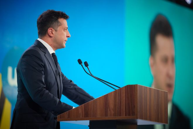De-oligarchization: Zelenskyy promised equal rights for everyone. Photo: Volodymyr Zelenskyy / Office of the President