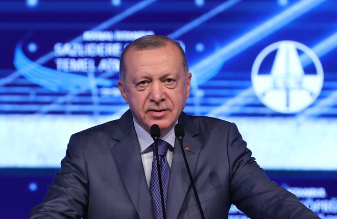 Президент Турции Реджеп Тайип Эрдоган. Фото: aa.com.tr