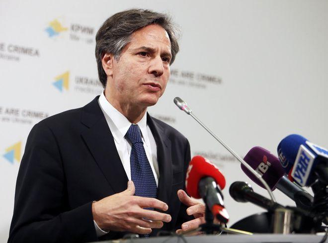 Blinken assured that the United States supports Ukrainian reforms. Photo: UNIAN