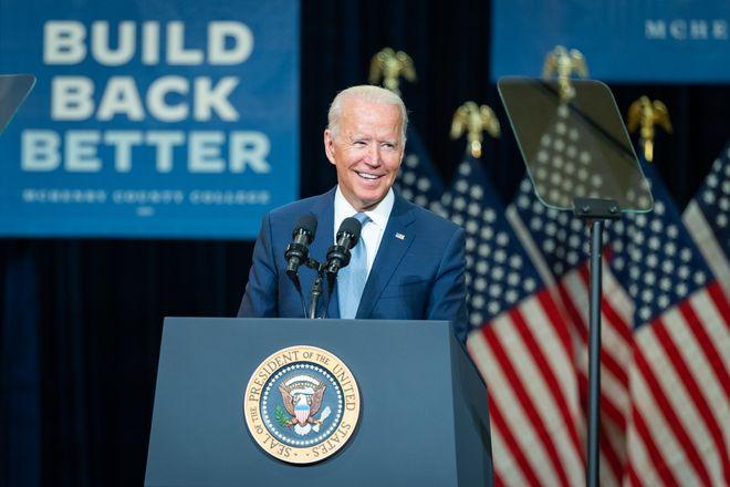 Президент США Джо Байден. Фото: Twitter / @POTUS