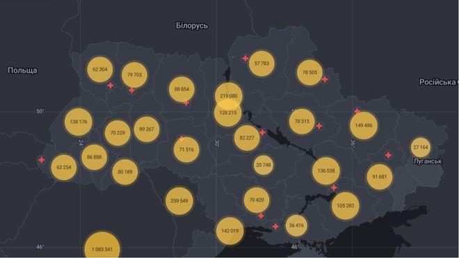 Коронавирус в Украине: статистика заболеваний и прививок на 2 августа. Фото: СНБО