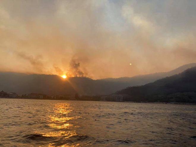 Пожары в Турции: как изменились цены на туры. Фото: FB / Алеся Павлинская