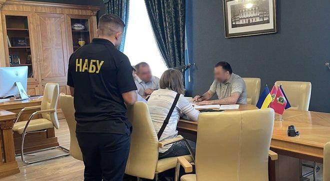 Голові Харківської облради повідомили про підозру. Фото: НАБУ