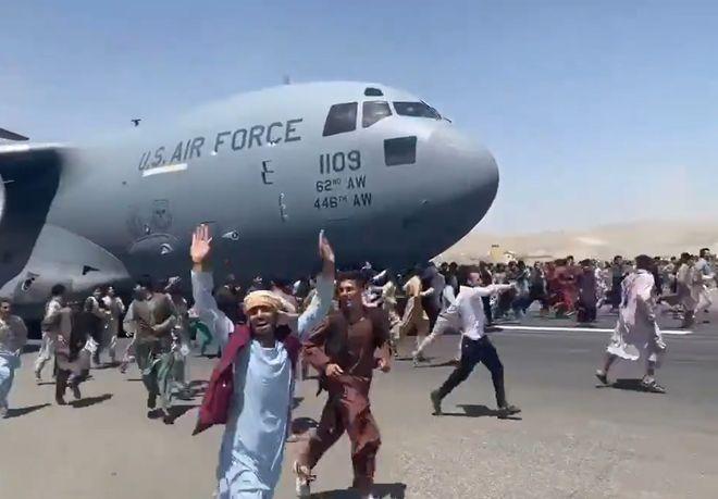 Захват власти талибами в Афганистане: ситуация на 16 августа. Фото: скриншот видео Aśvaka News Agency.