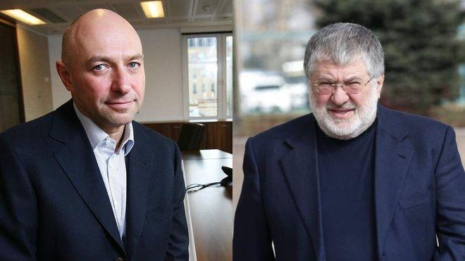 Геннадий Боголюбов и Игорь Коломойский. Фото: «24 канал»