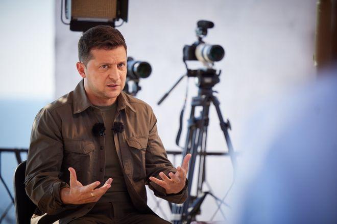 Інтерв'ю Володимира Зеленського про Крим 19 серпня: головне. Фото: ОП