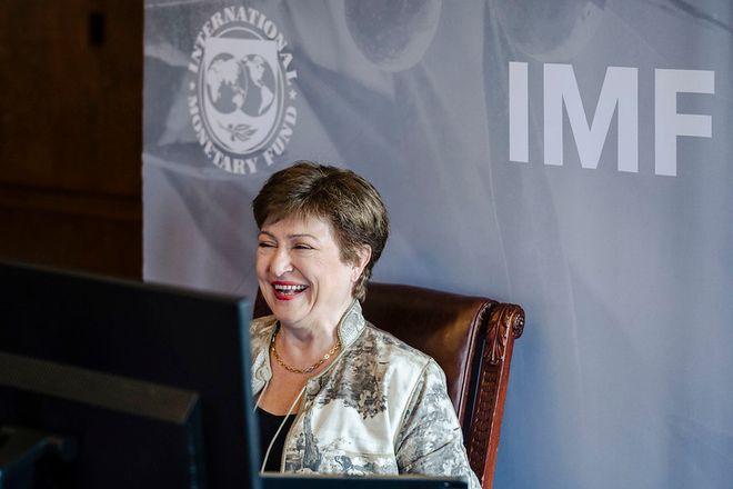 Директор-розпорядник МВФ Крісталіна Георгієва. Фото: IMF
