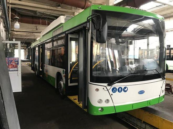 Тролейбус, який з'єднає Сєвєродонецьк і Лисичанськ. Фото: ФБ Олександра Кави