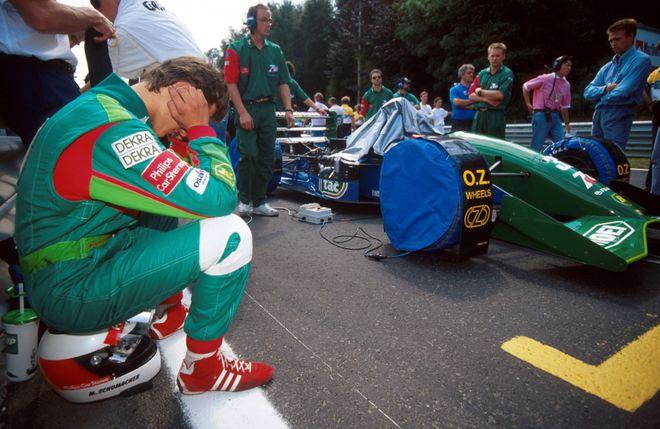 30 лет назад в «Формуле-1» дебютировал величайший пилот Михаэль Шумахер. Фото: Motorsport