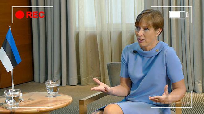 Президентка Естонії Керсті Кальюлайд. Фото: «Європейська правда»