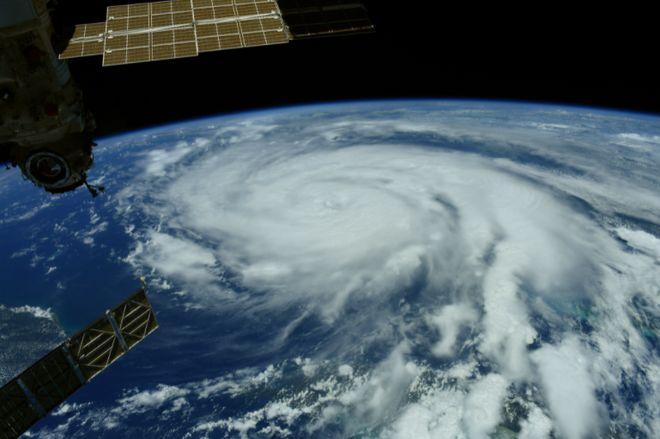 Ураган «Іда» в США: знеструмлений Новий Орлеан і зміна течії Міссісіпі. Фото: Thomas Pesquet / Twitter