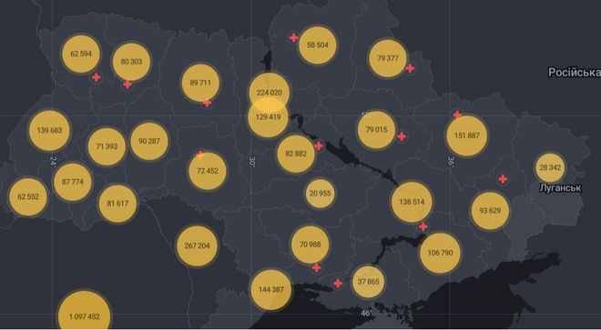 Коронавірус в Україні: статистика захворювань і щеплень на 31 серпня. Фото: РНБО