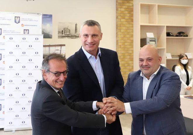 Киев и ЕБРР заключили кредит на 140 млн евро для развития тепловой инфраструктуры. Фото: сайт КГГА