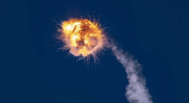 Взрыв американо-украинской ракеты Alpha 3 сентября 2021 года. Фото: NASA /  Jack Beyer