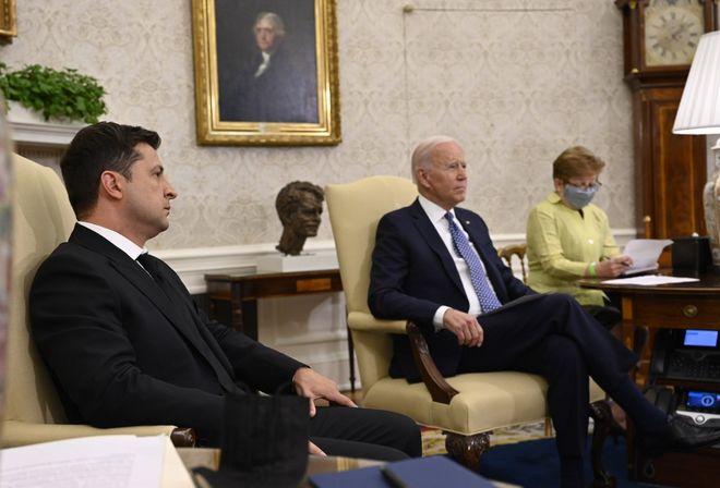 Встреча Зеленского и Байдена. Фото: president.gov.ua
