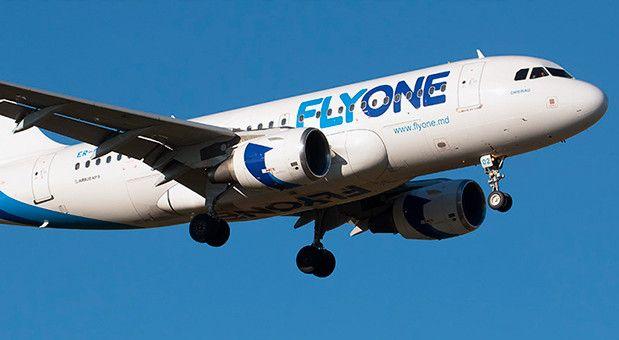 Собственные регулярные рейсы Киев — Кишинев авиакомпания FlyOne начнет 1 ноября. Фото: FlyOne