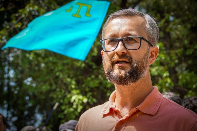 Deputy Head of the Crimean Tatar Mejlis Nariman Dzhelyalov. Photo: Facebook Refat Chubarov