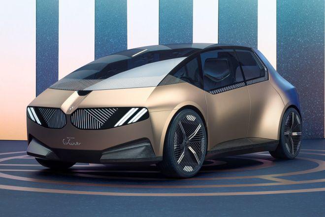 BMW i Vision Circular на 100% состоит из вторсырья. Фото: BMW