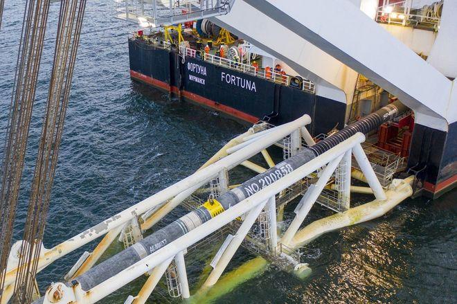 «Газпром» озвучил дату старта поставок газа по газопроводу. Фото: сайт Nord Stream 2 AG