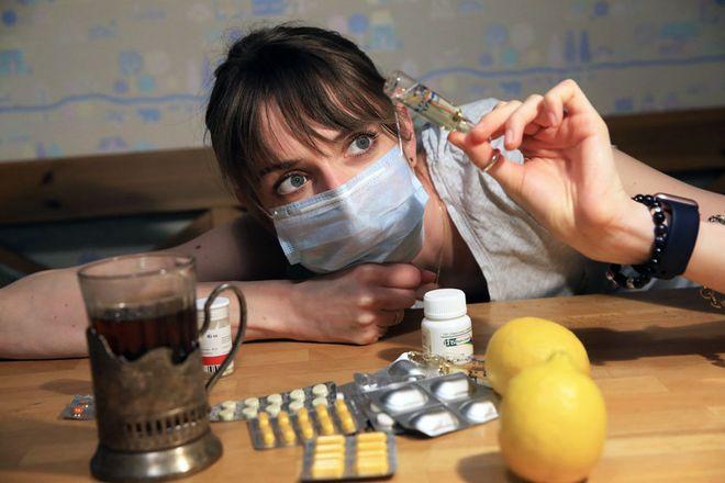 Уровень заболеваемости ниже эпидемического порога на 63%. Фото: rg.ru