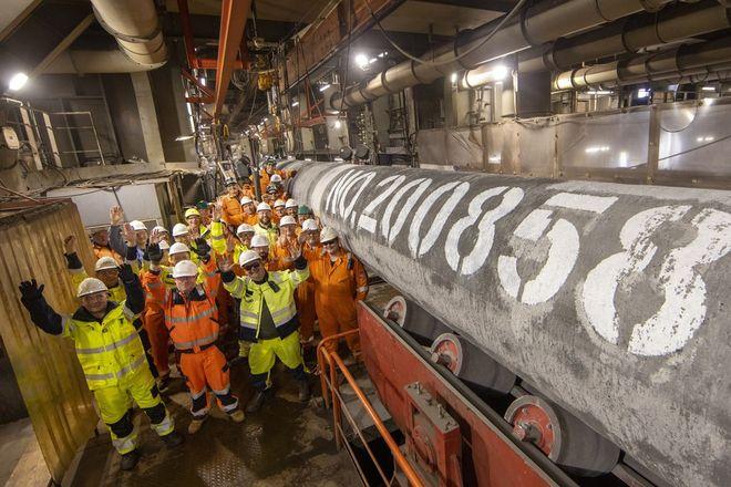 Процесс сертификации может длиться до четырех месяцев. Фото: Nord Stream 2 AG