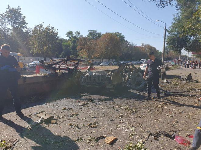 В Днепре взорвался автомобиль: что известно и кто погиб. Фото: Нацполиция