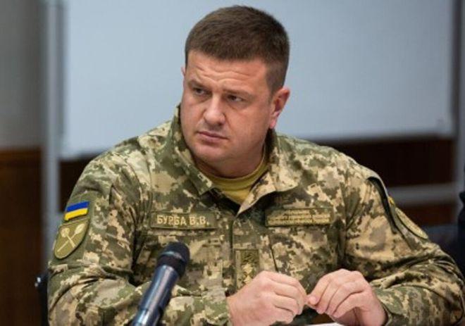 Екс-начальник ГУР МОУ Василь Бурба