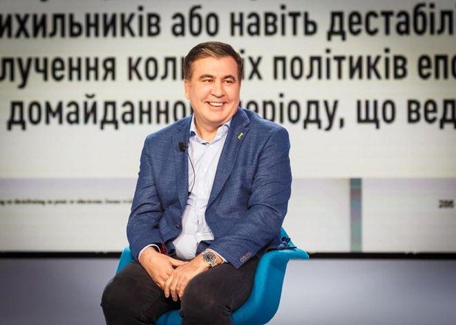 Возвращение Саакашвили в Грузию. Фото: Facebook / Mikheil Saakashvili