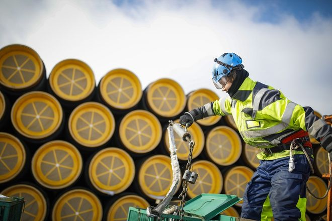 Проблеми із сертифікацією не дадуть змоги «Північному потоку — 2» скомпенсувати нестачу запасів газу в ЄС. Фото: Nord Stream 2