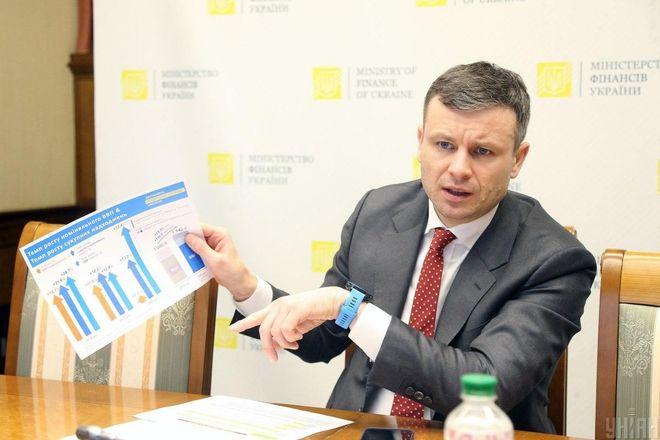 Місію МВФ в Україні цікавлять фіскальні ризики через ціну на газ — міністр фінансів Сергій Марченко.  Фото: УНІАН