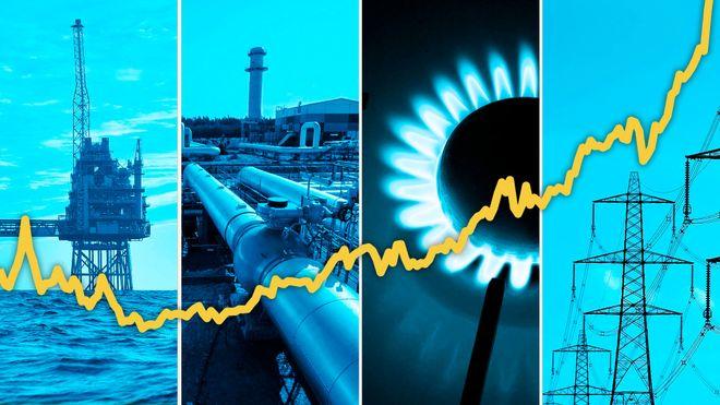 Газова цінова криза у Європі. Фото: FT montage
