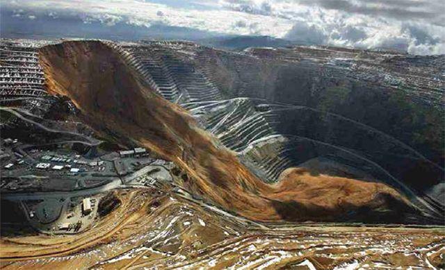 Видобуток золота на руднику в США. Фото: «Золотовидобування»