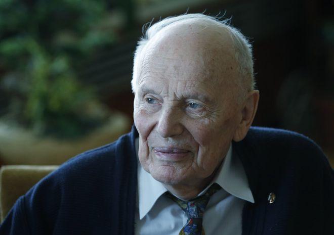 На 102-му році життя помер Борис Патон. Борис Патон. Фото: УНІАН