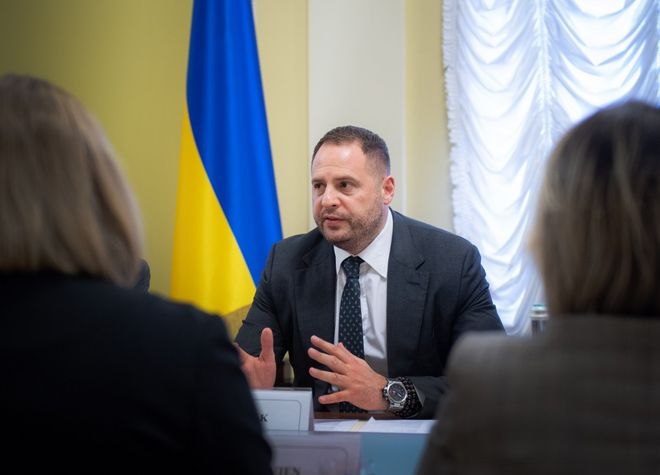 Андрей Ермак. Фото: Офис президента