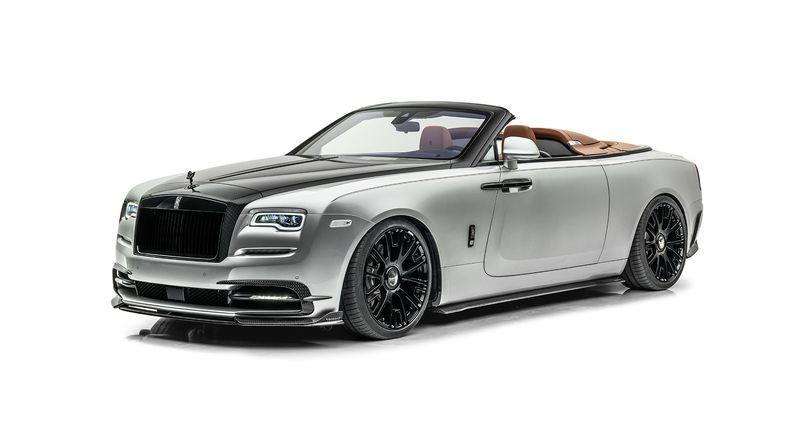 Mansory Rolls-Royce Dawn Silver Bullet