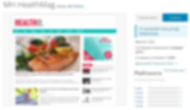 тема MH HealthMag для блогов о здоровье