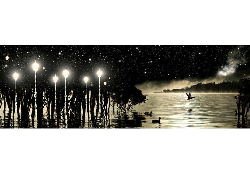 Poster - Lake Wanaka At Night image