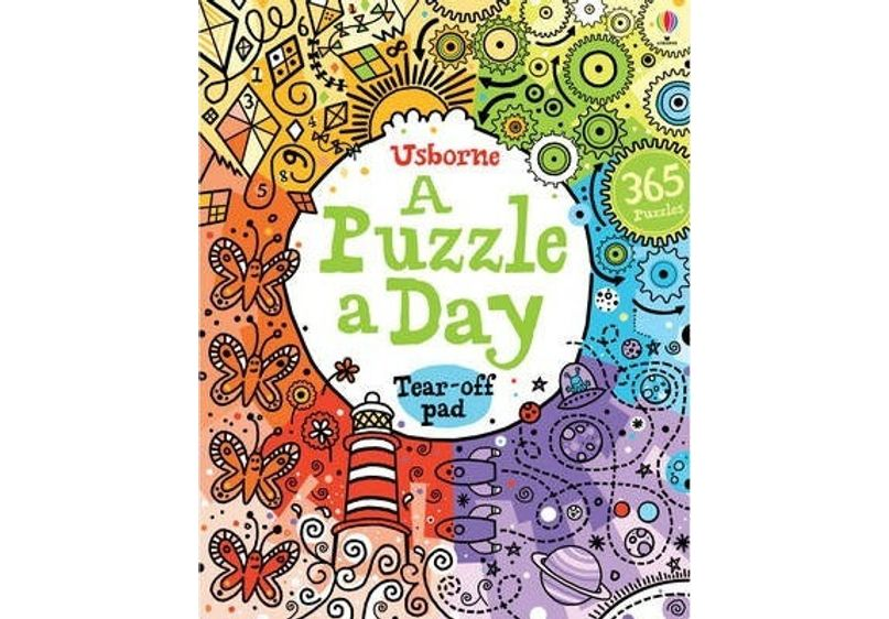 Puzzle A Day Book image
