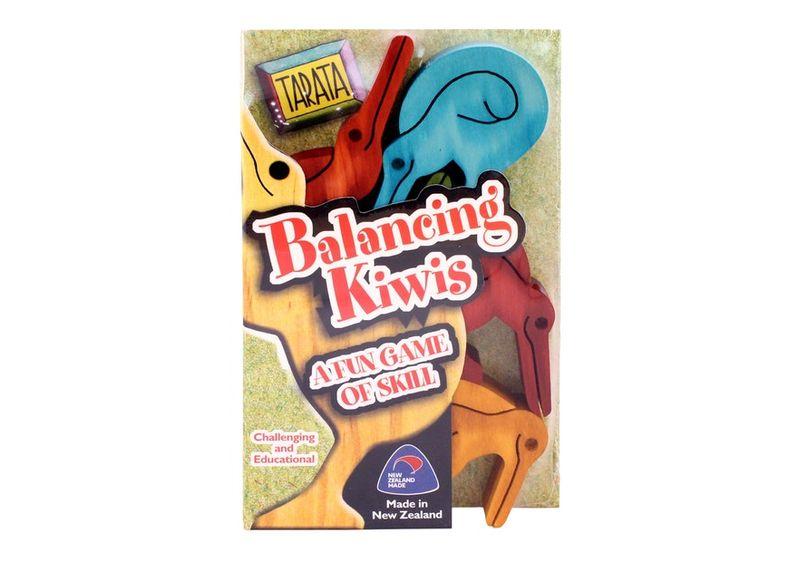 Balancing Kiwi - Sm Coloured image