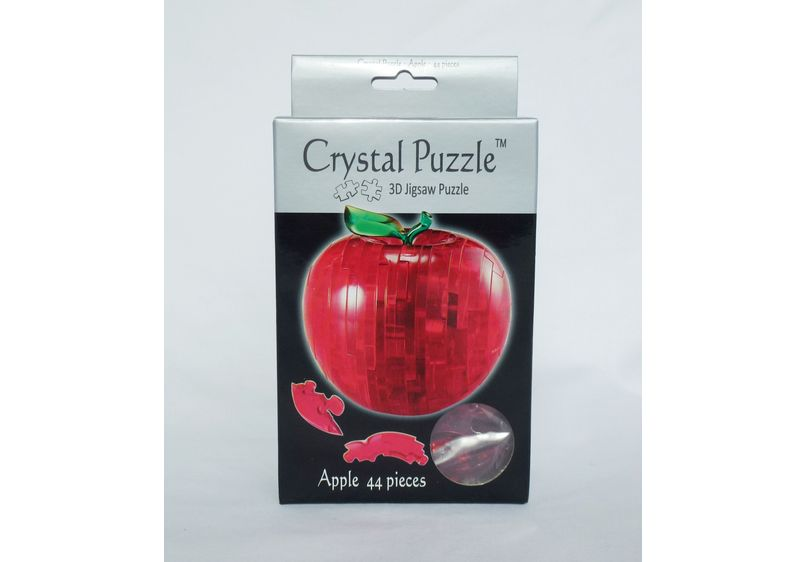 Crystal Puzzle - Red Apple image