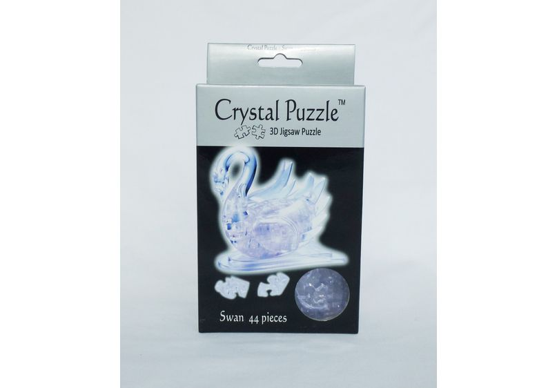 Crystal Puzzle - Swan image