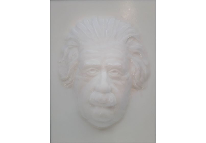 Einstein Following Face image