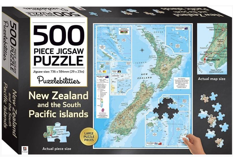 New Zealand Jigsaw 500pc image
