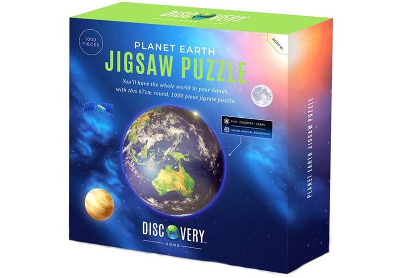 Planet Earth Jigsaw Puzzle image