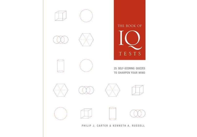 Book of IQ Tests image