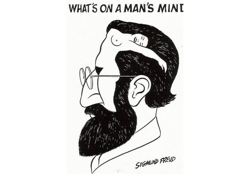 Poster - Whats on a Mans Mind image