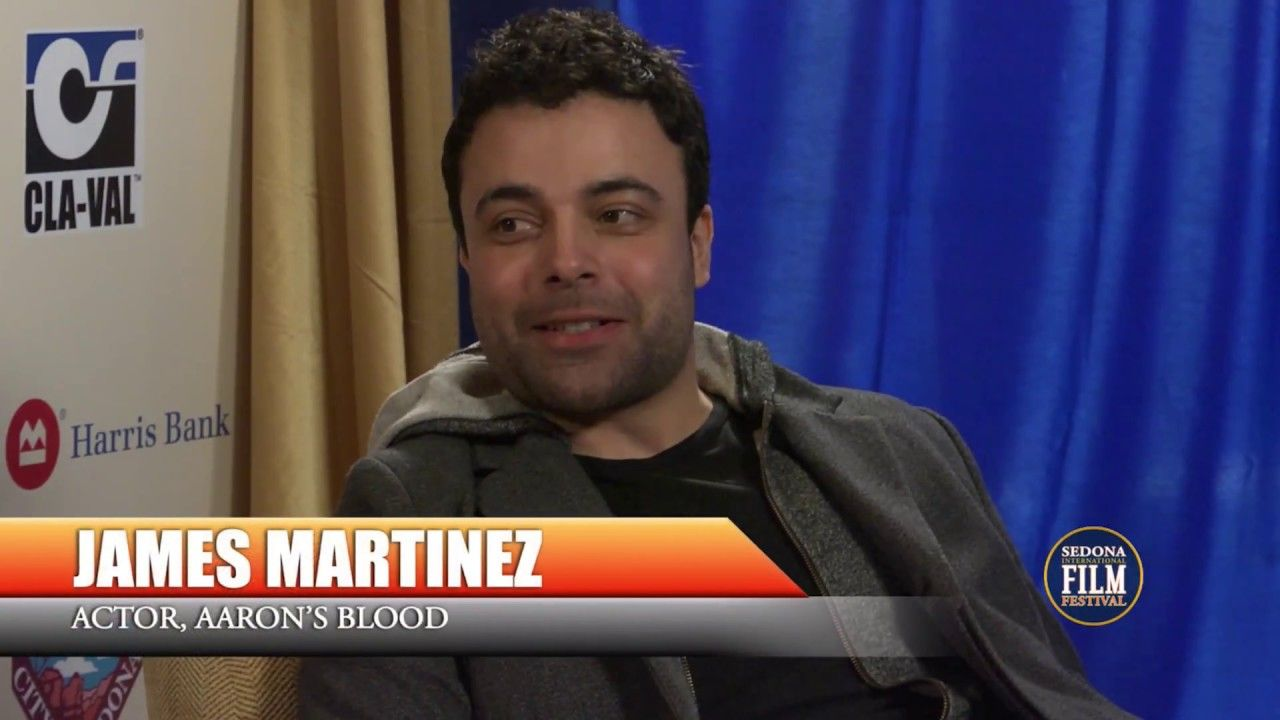 James Martinez Aaron's Blood Interview #2017SedonaFilmFest